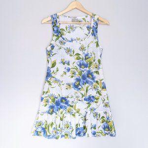 🇺🇸 Becca Watercolour Floral Ruffle Beach Dress
